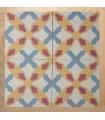 Monocrhome cement decorative tile 20 x 20